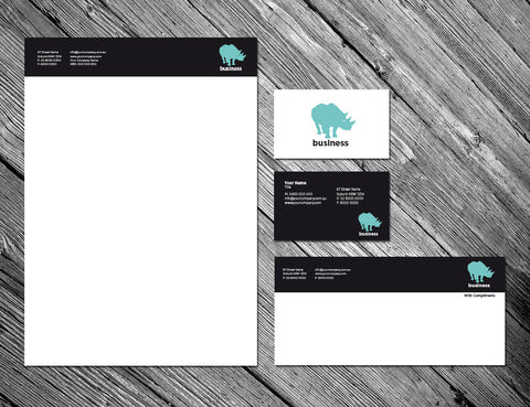 Image of stationery design S010995