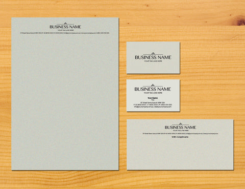 Image of stationery design S010996
