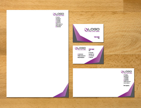 Image of stationery design S010998