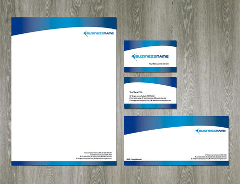 Image of stationery design S100101