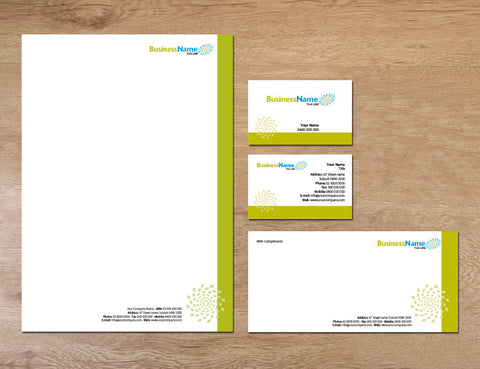 Image of stationery design S100102
