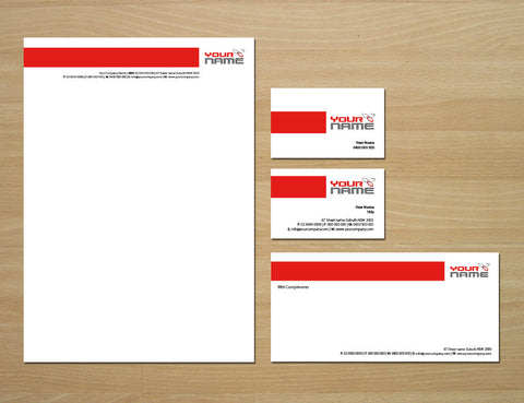 Image of stationery design S100103