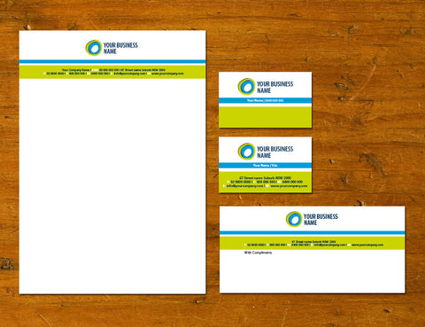 Image of stationery design S100104