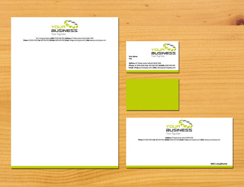 Image of stationery design S100105