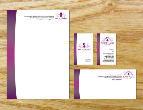 Image of stationery design S100106