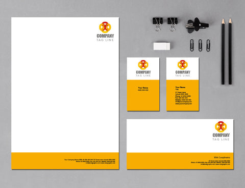 Image of stationery design S100110