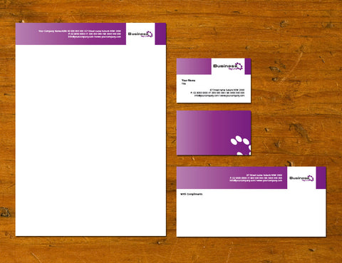 Image of stationery design S100119