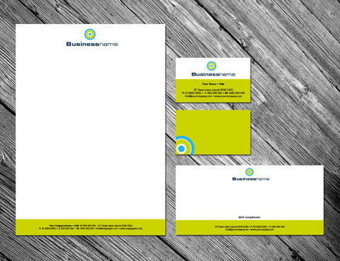 Image of stationery design S100120