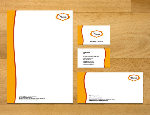 Image of stationery design S100124