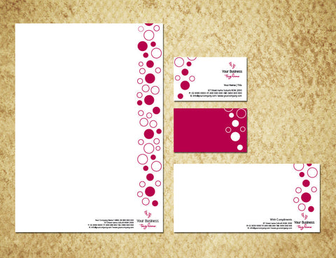Image of stationery design S100126