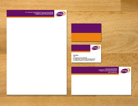 Image of stationery design S100129