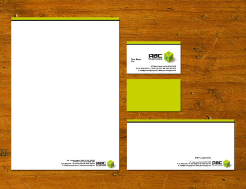 Image of stationery design S100132