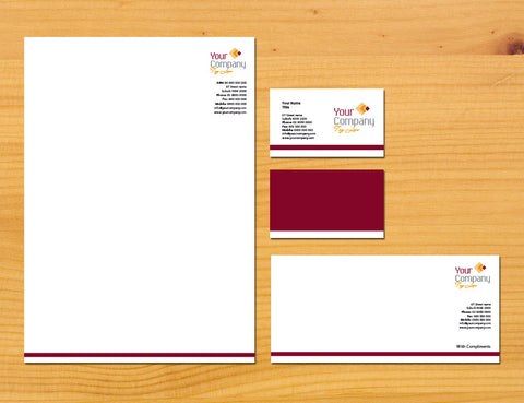 Image of stationery design S100133