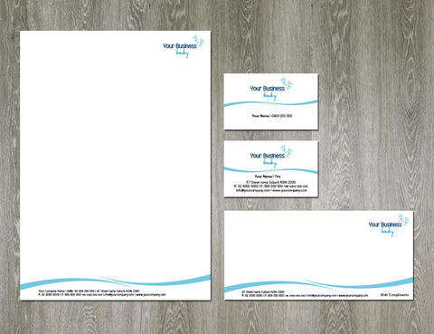 Image of stationery design S100135