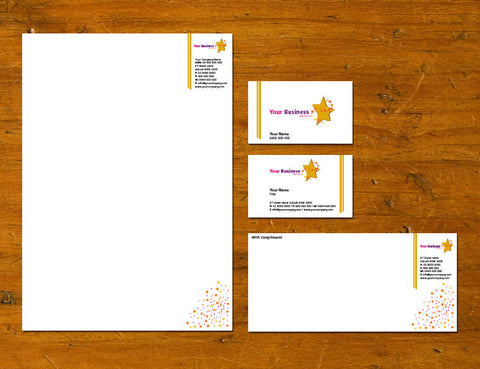 Image of stationery design S100136