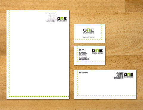 Image of stationery design S100140