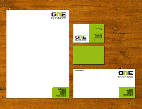 Image of stationery design S100144
