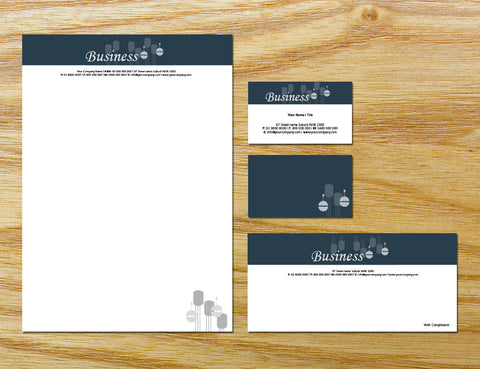 Image of stationery design S100146