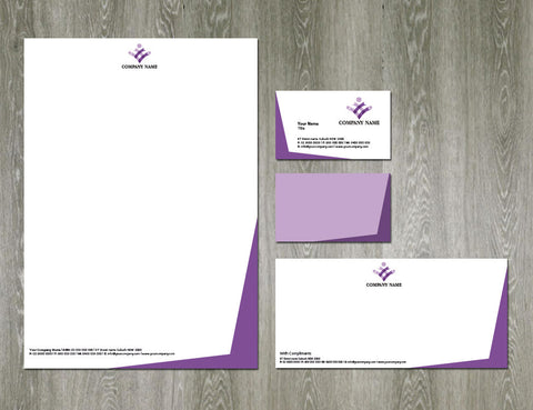 Image of stationery design S100148