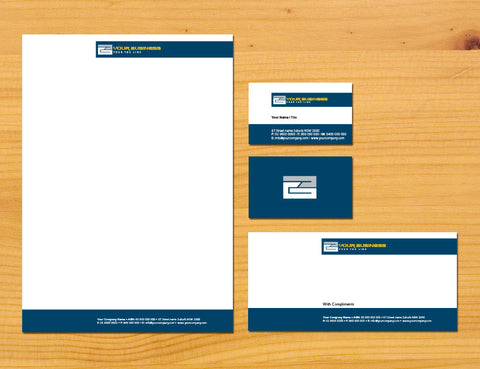 Image of stationery design S100151