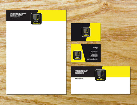 Image of stationery design S100156