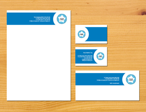 Image of stationery design S100161