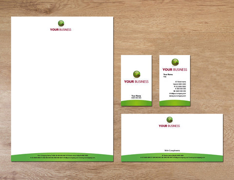Image of stationery design S100166