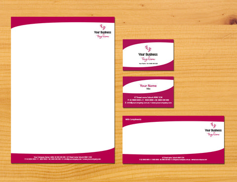 Image of stationery design S100167