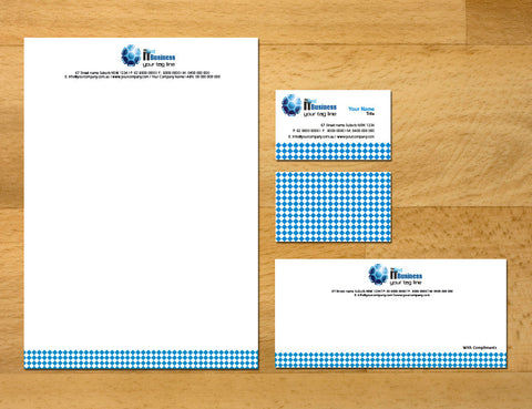 Image of stationery design S100168
