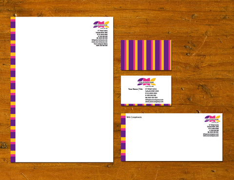 Image of stationery design S100173
