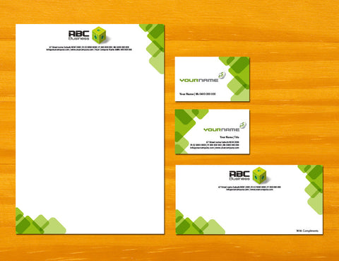 Image of stationery design S100174