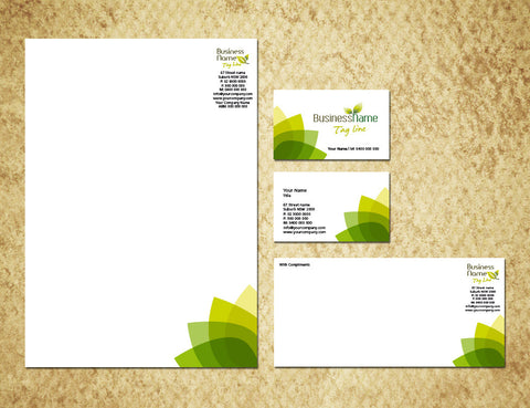 Image of stationery design S100175