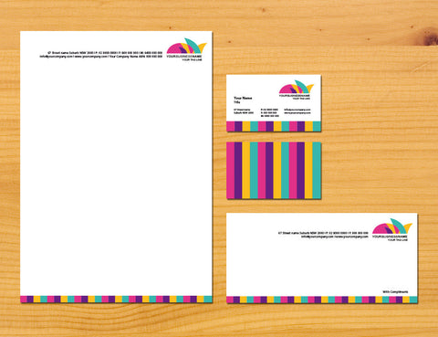 Image of stationery design S100177