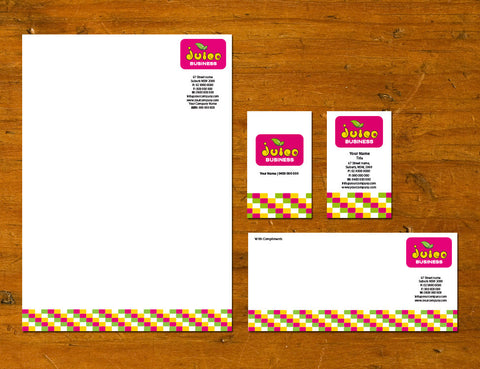 Image of stationery design S100178