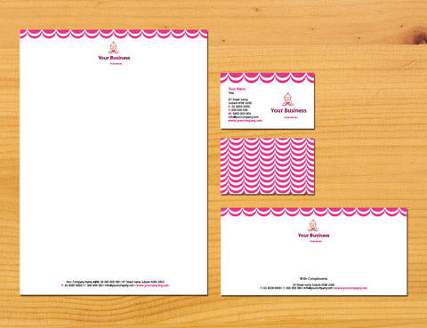 Image of stationery design S100180