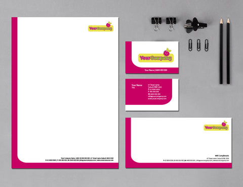 Image of stationery design S100184
