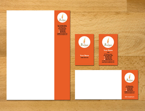 Image of stationery design S100186