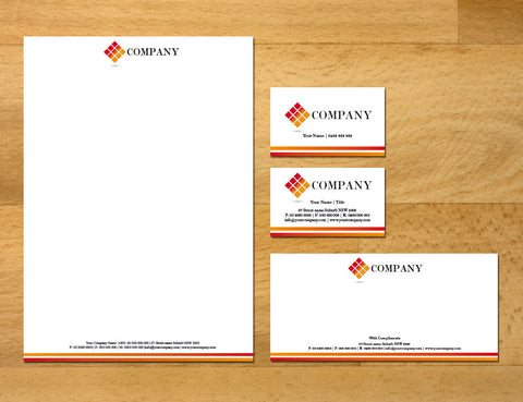 Image of stationery design S100191