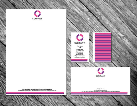 Image of stationery design S100192