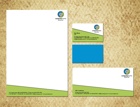 Image of stationery design S100199