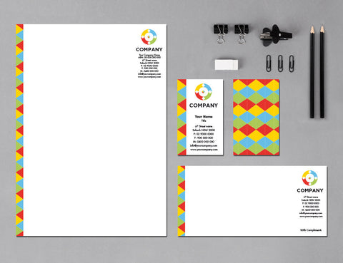 Image of stationery design S100200