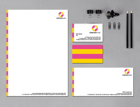 Image of stationery design S100209