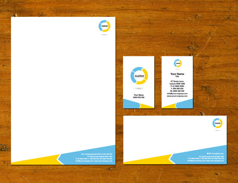 Image of stationery design S100210