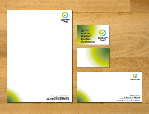 Image of stationery design S100213