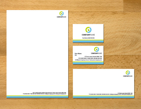 Image of stationery design S100214