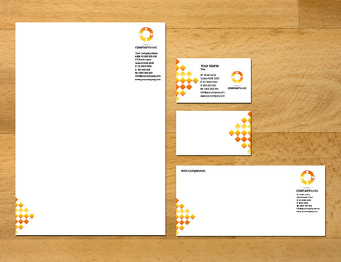Image of stationery design S100228