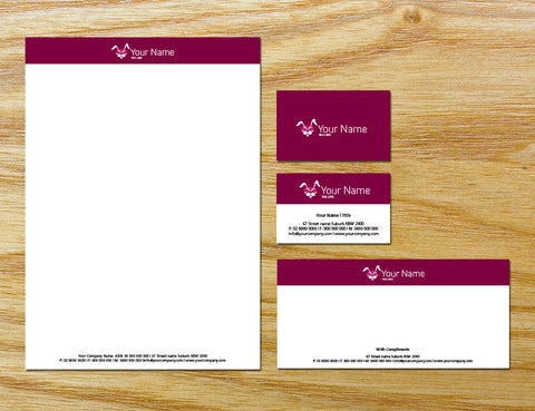 Image of stationery design S100229