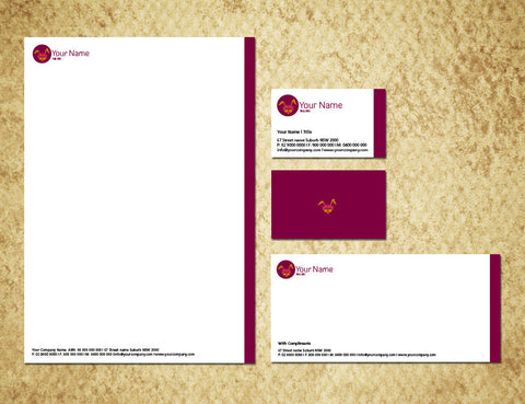 Image of stationery design S100230