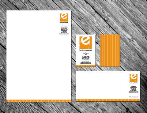 Image of stationery design S100236