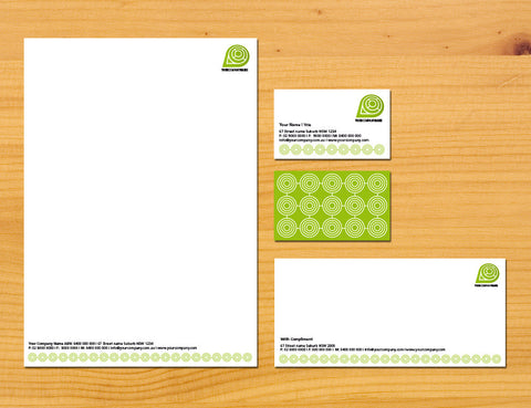 Image of stationery design S100245